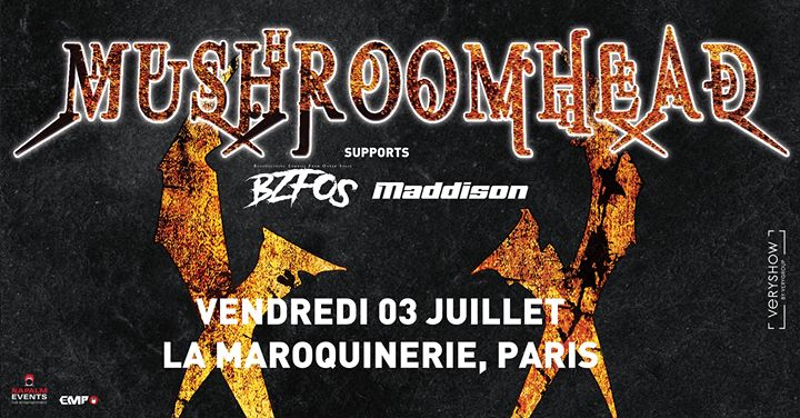 Mushroomhead + Guests • Paris